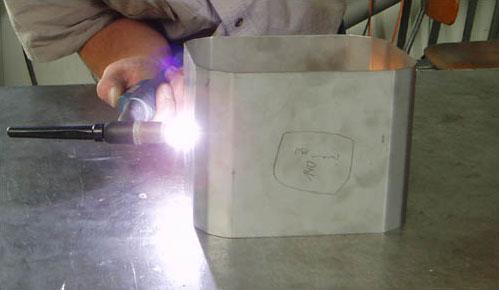 Welding and soldering work